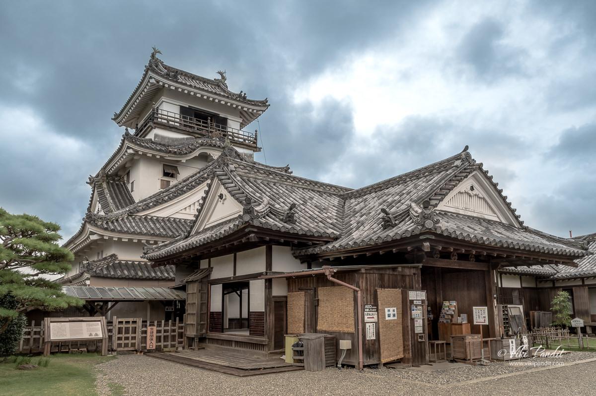 Homaru & Tenshukaku of Kochi Castle