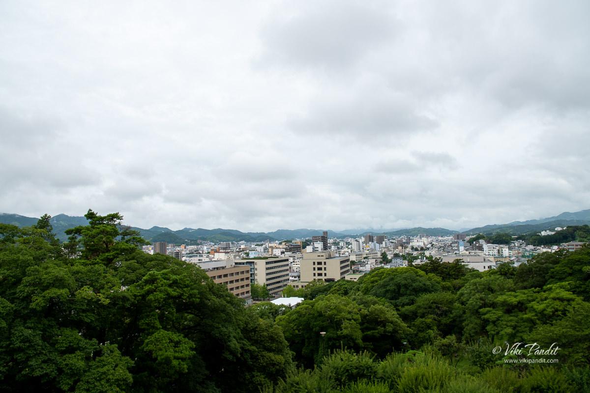 View of Kochi City from Otakasa Hill