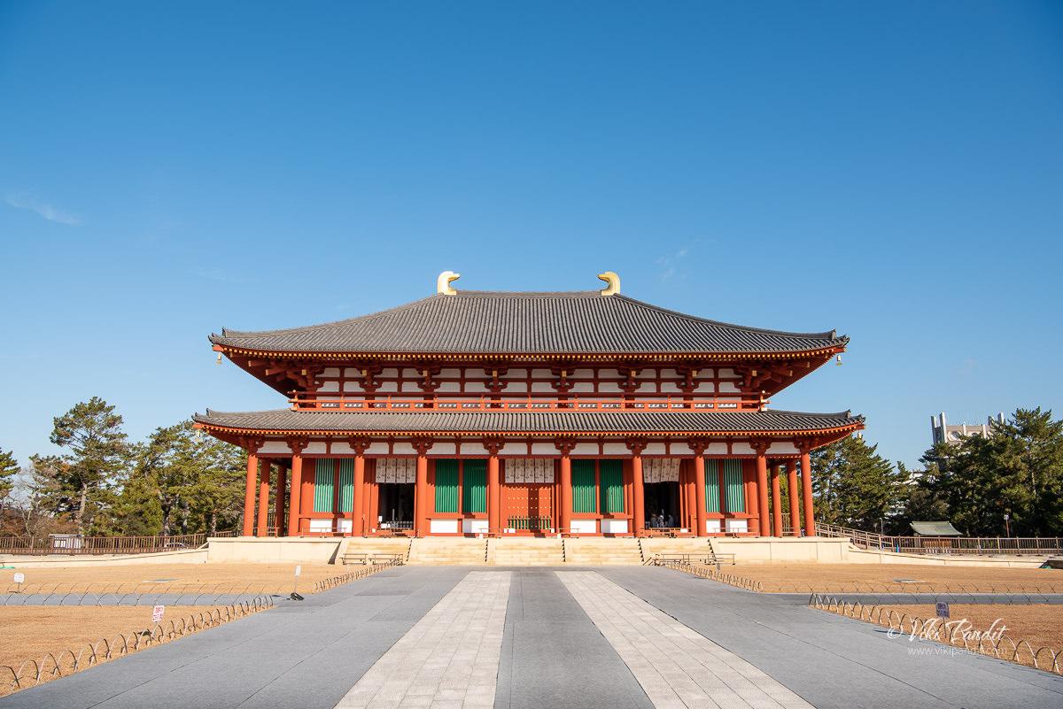 Chū-Kondō ( Central Golden Hall ) of Kofukuji Temple
