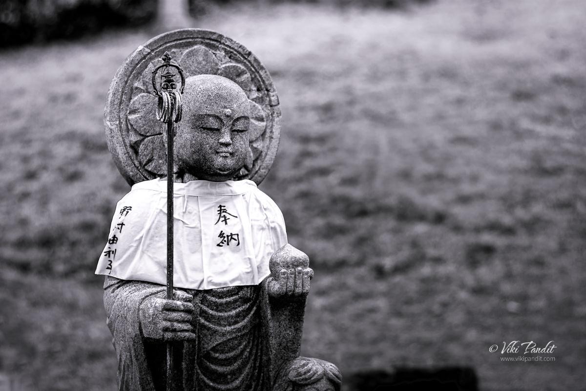 Jizo statue on Kofuku-ji Grounds