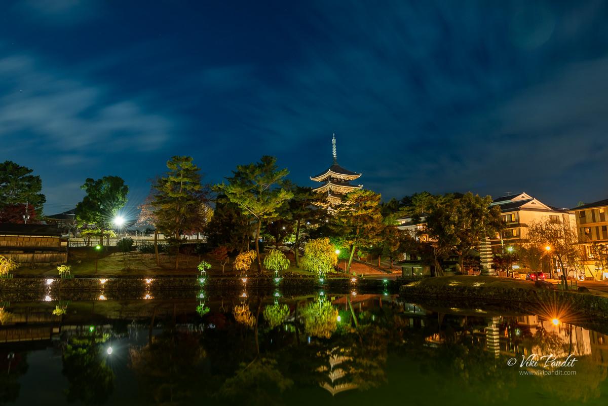 Sarusawa Pond in Nara Park