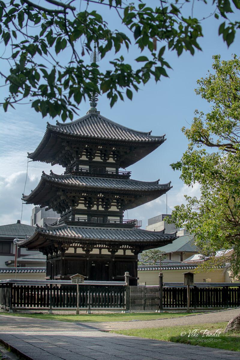 Kofuku-ji Three Story Pagoda