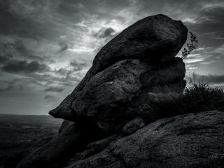Kunti Betta Rock Face