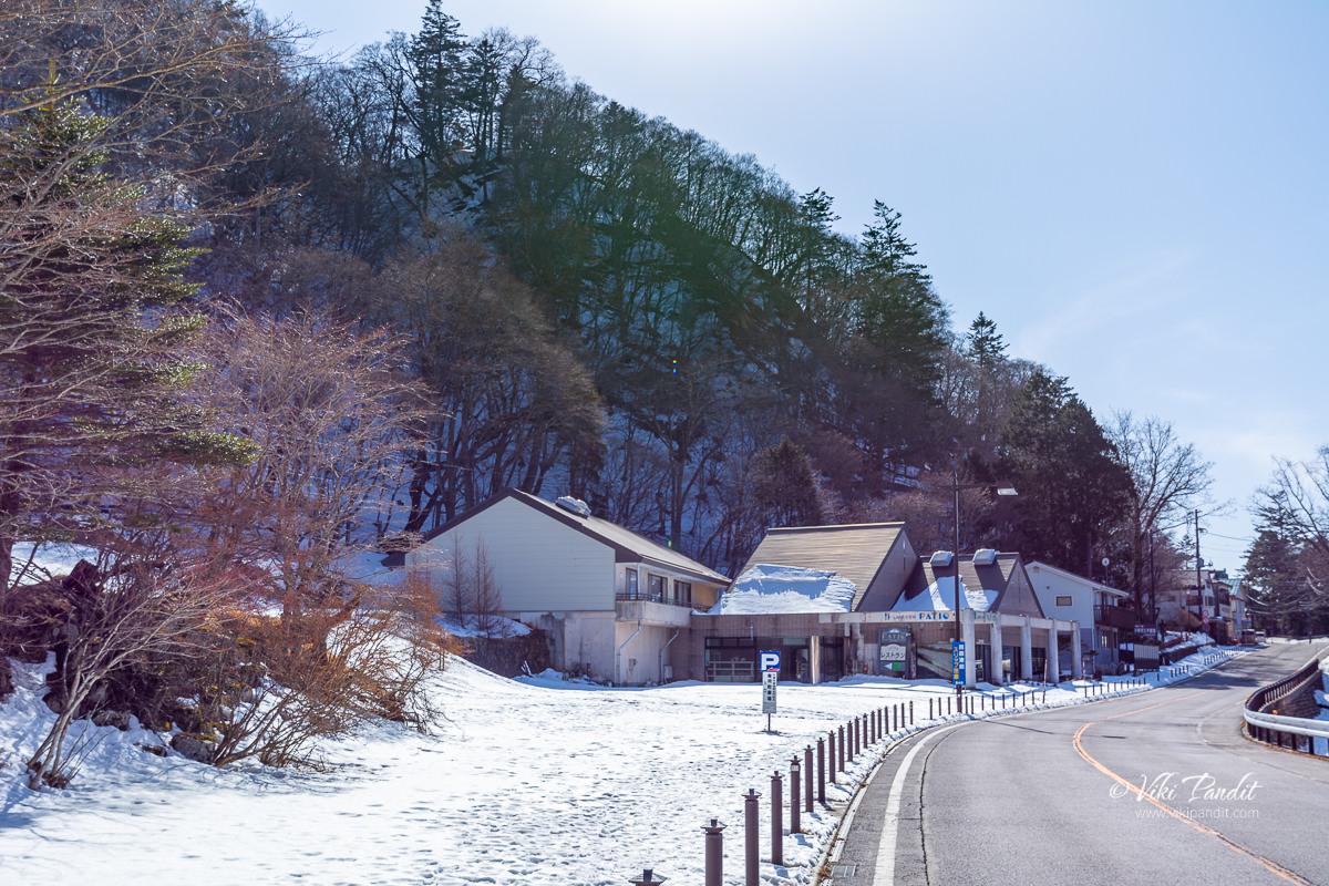 Inns beside Lake Chuzenji