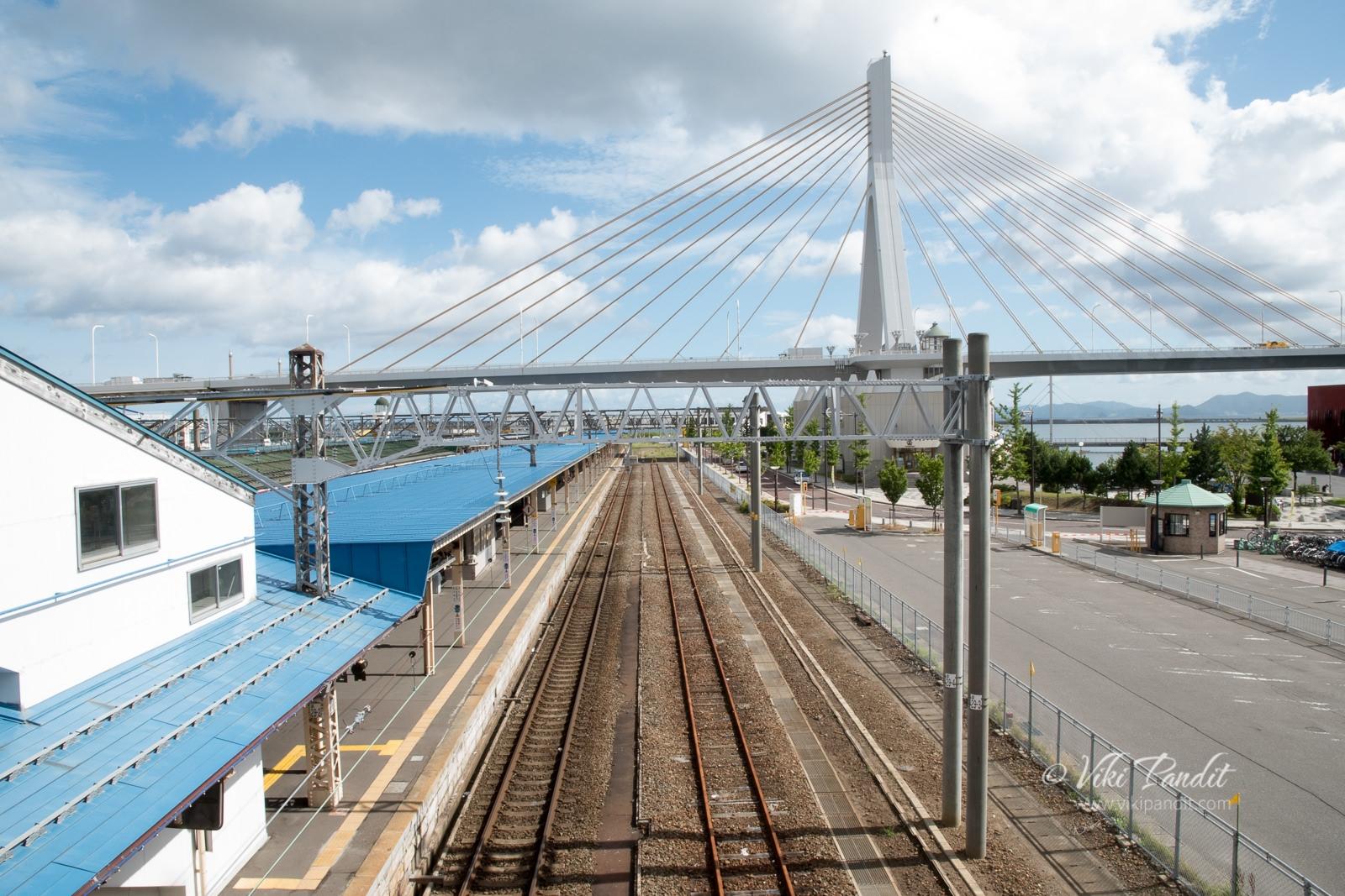 Aomori Station Overbridge