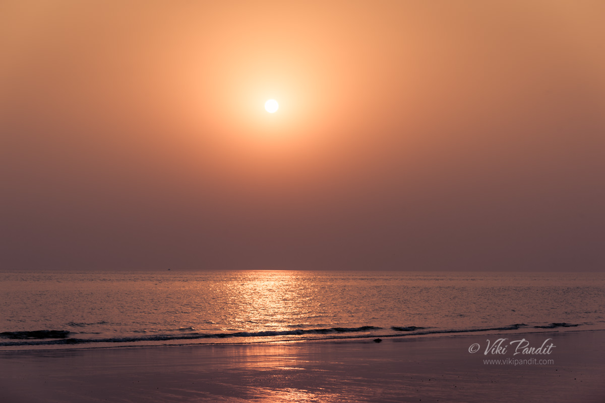 Dusk at Mandvi Beach