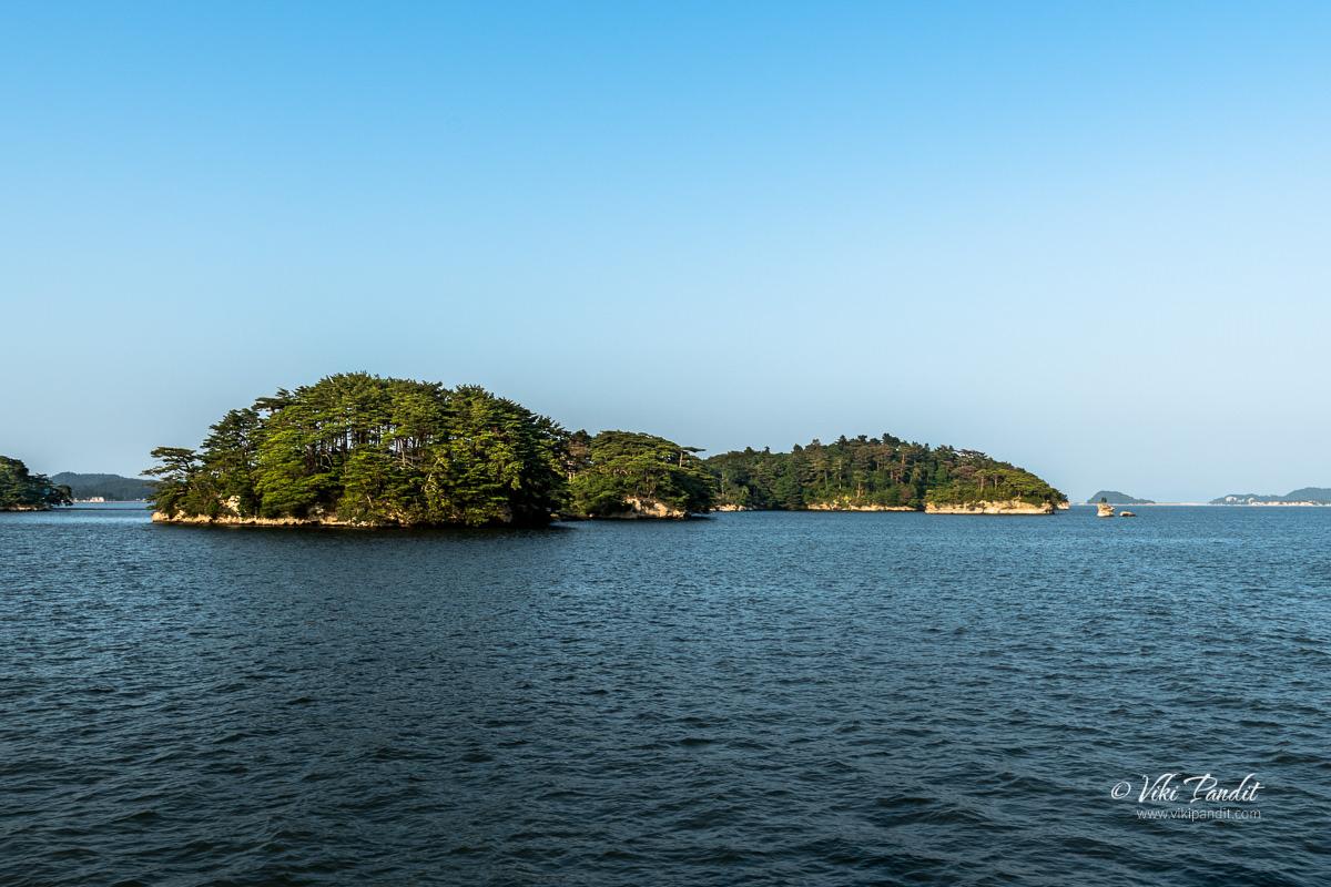 Nono-shima Island in Matsushima Bay