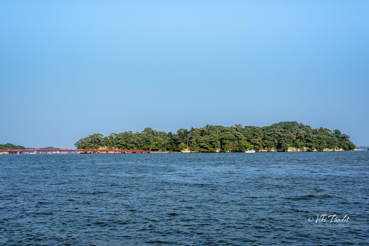 Fukuurajima Island in Matsushima Bay