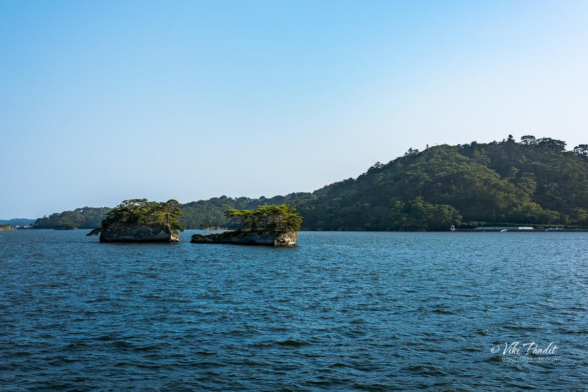 Futagojima Islands in Matsushima Bay