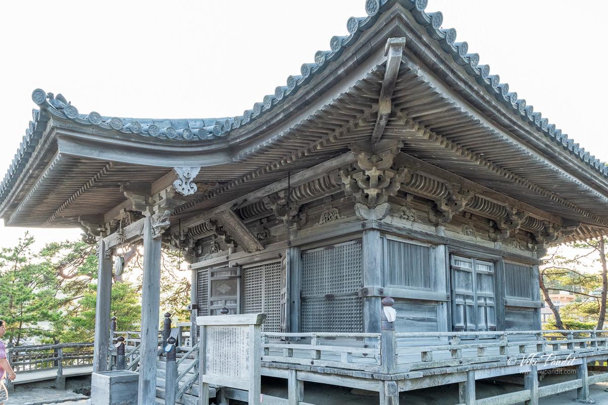 Godaidō Temple in Matsushima Bay