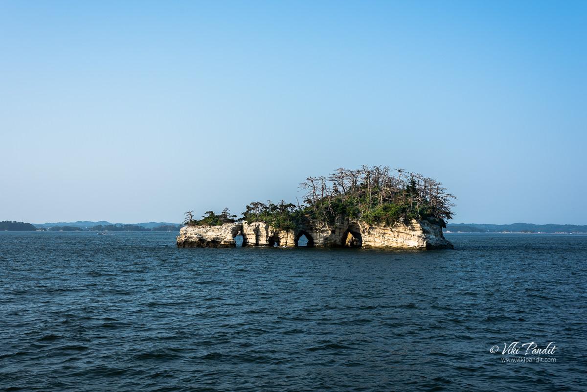 Kanejima Island in Matsushima Bay
