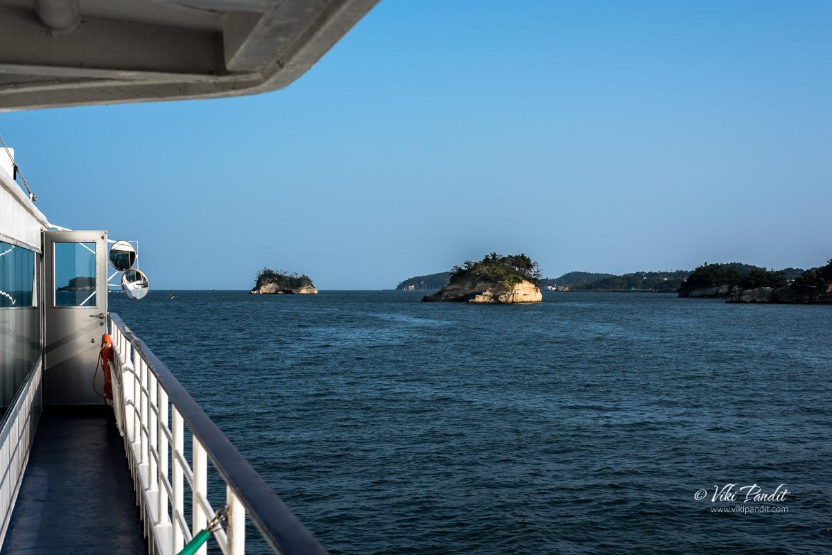 Ise-jima & Komachi-jima in Matsushima Bay