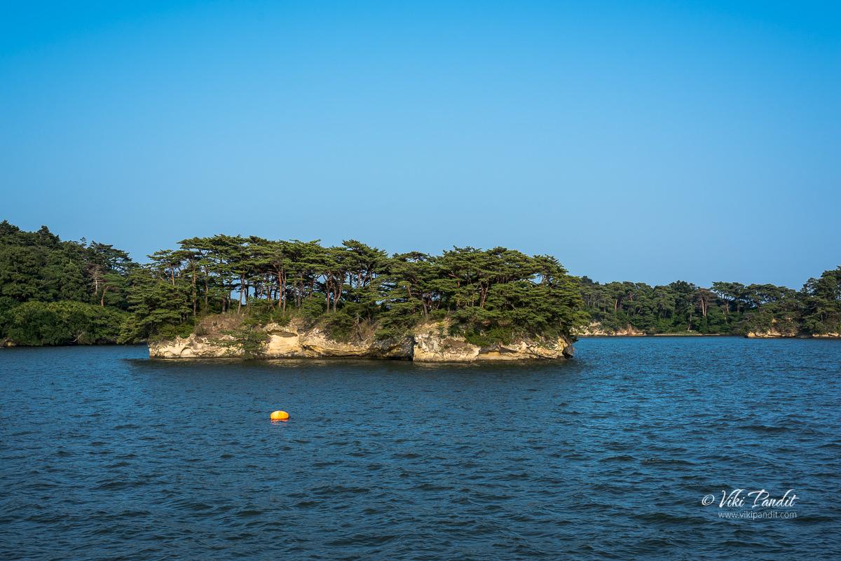 Kyouga-shima Island in Matsushima Bay
