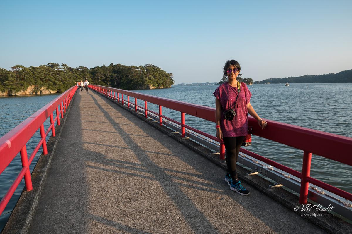 Ranita at Matsushima Bay
