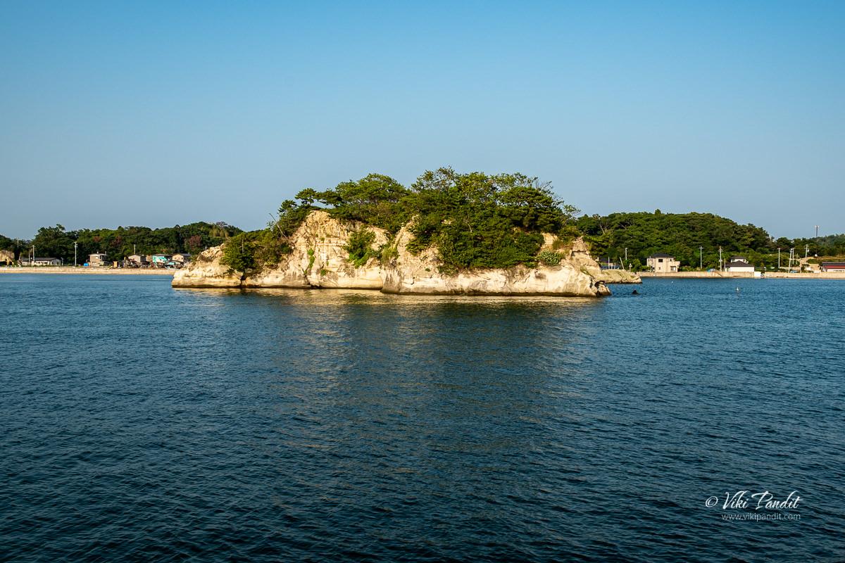 O-shima Island in Matsushima Bay