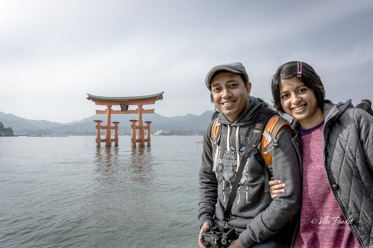 Ranita and Viki at Miyajima Island