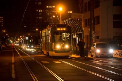 Streetcar in Sapporo