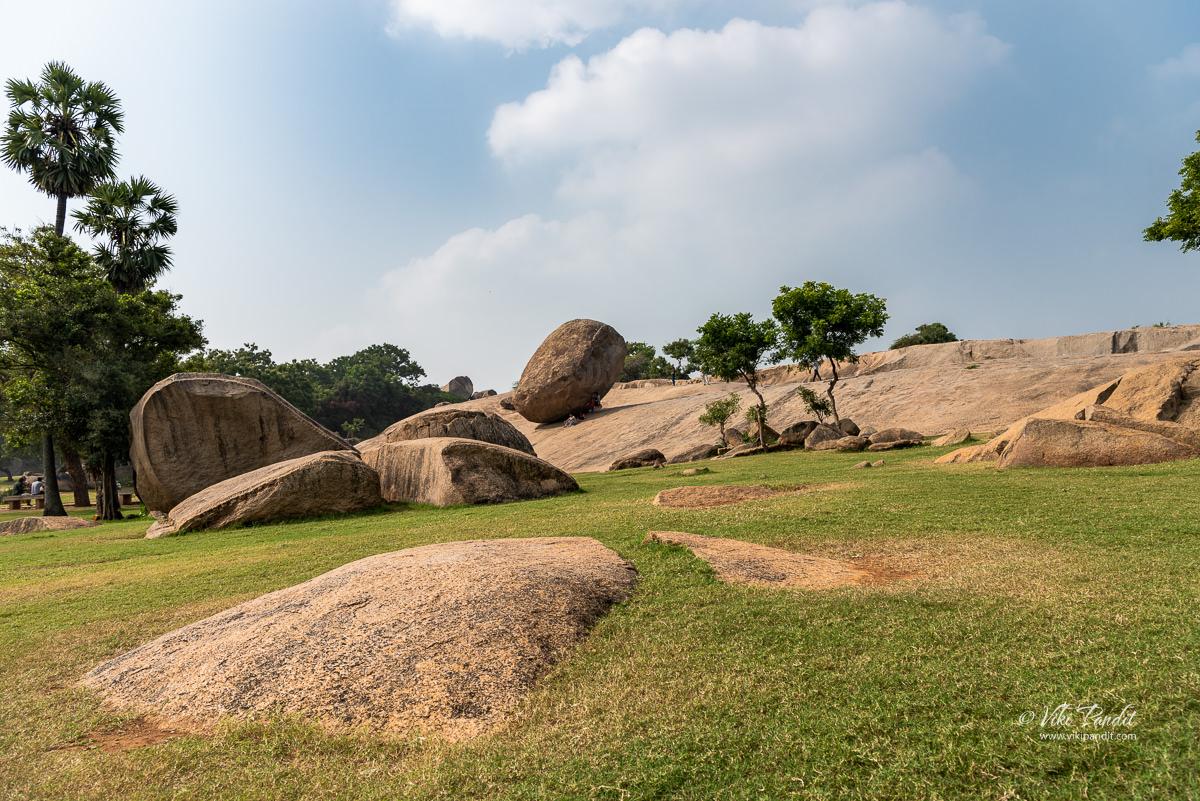 Boulders around Mahabalipuram
