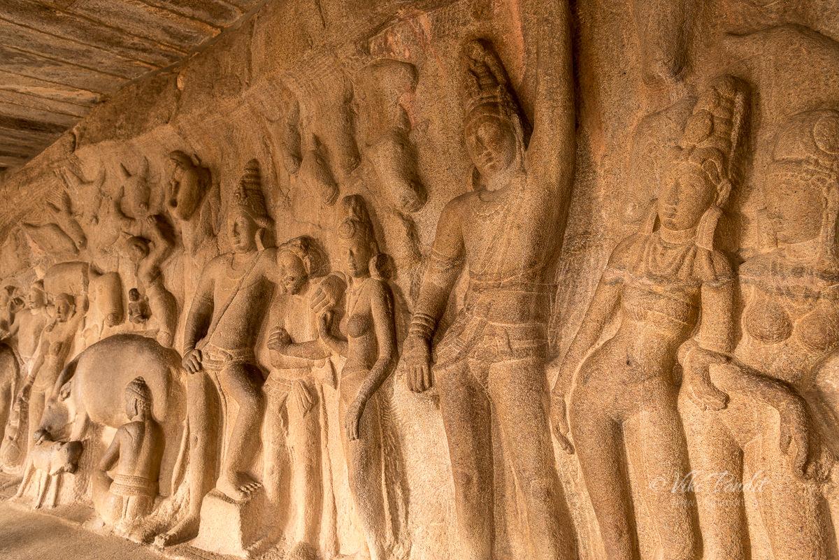 Krishna Mandap at mahabalipuram