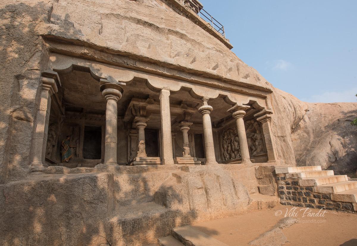 Mahisamardini Cave at Mahabalipuram