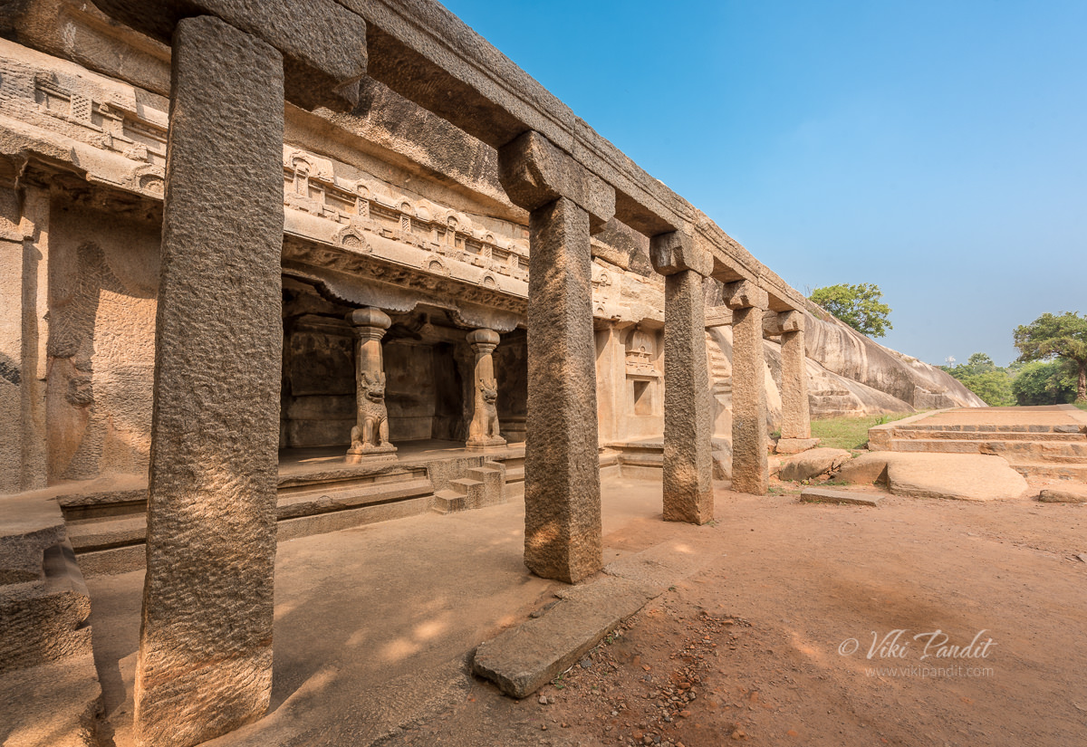 Ramanuja Mandap at Mahabalipuram
