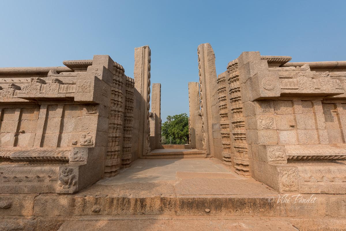 Roya Gopuram at Mahabalipuram