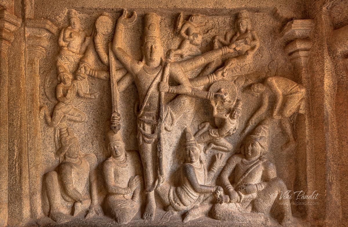 Trivikrama at Mahabalipuram