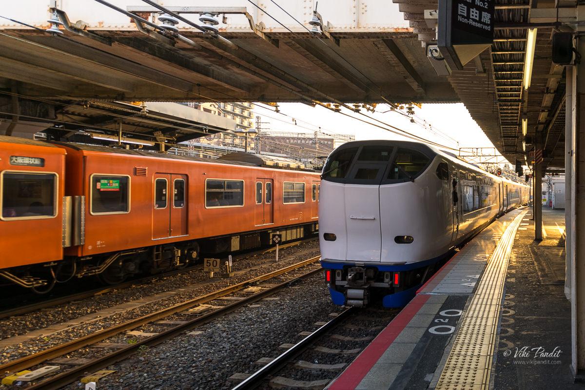 Kuroshio Limited Express to Wakayama