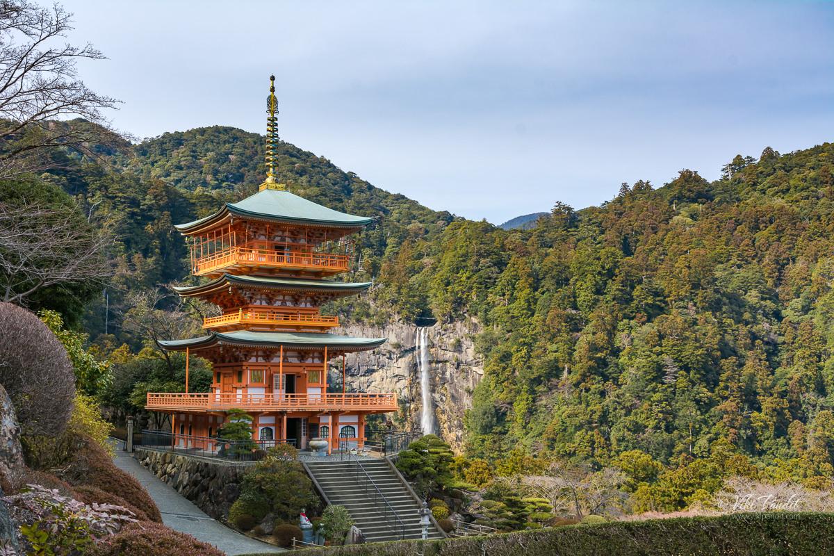 Sanjudo Pagoda at Nachi Falls