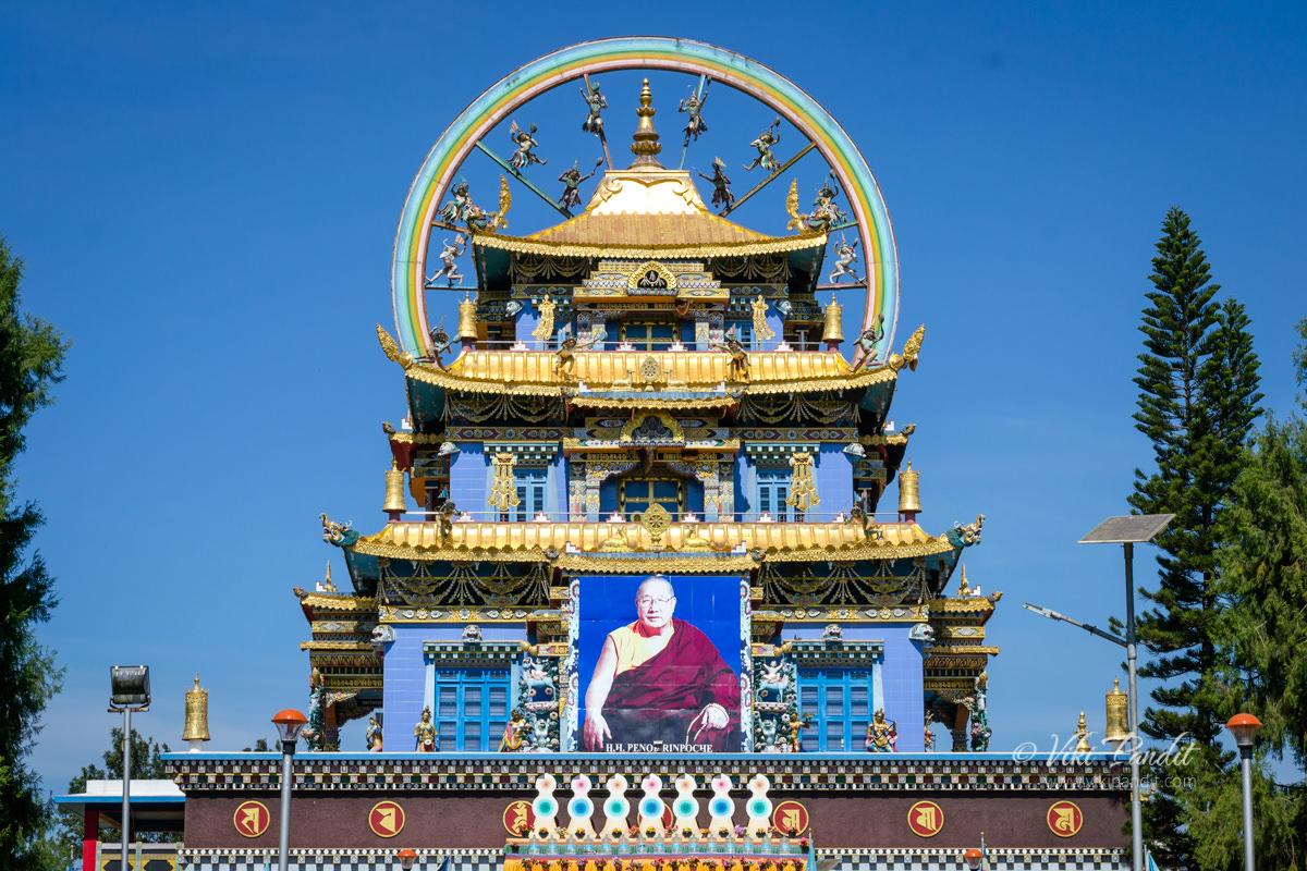 Namdroling Monastery in Bylakuppe