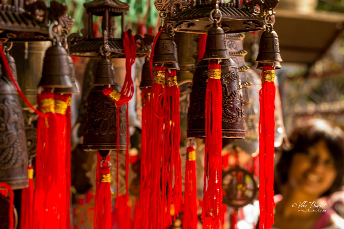 Souvenir Shops at Namdroling Monastery