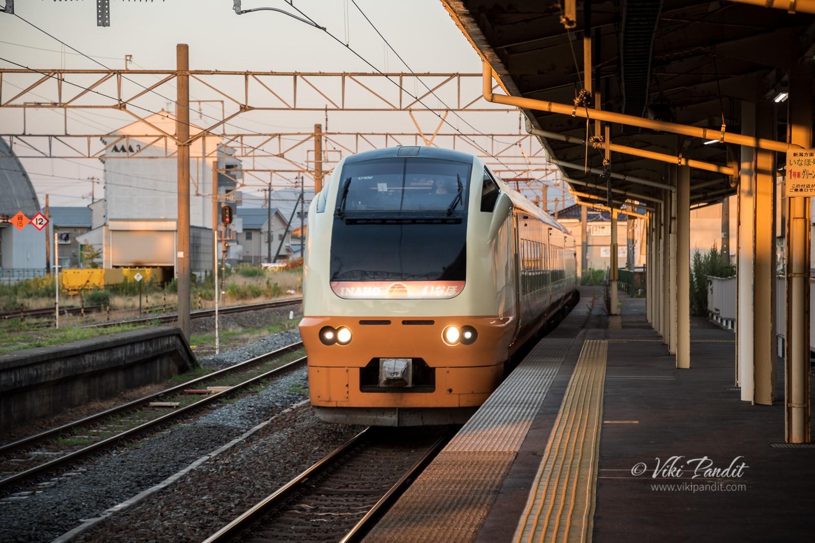 Train to Niigata