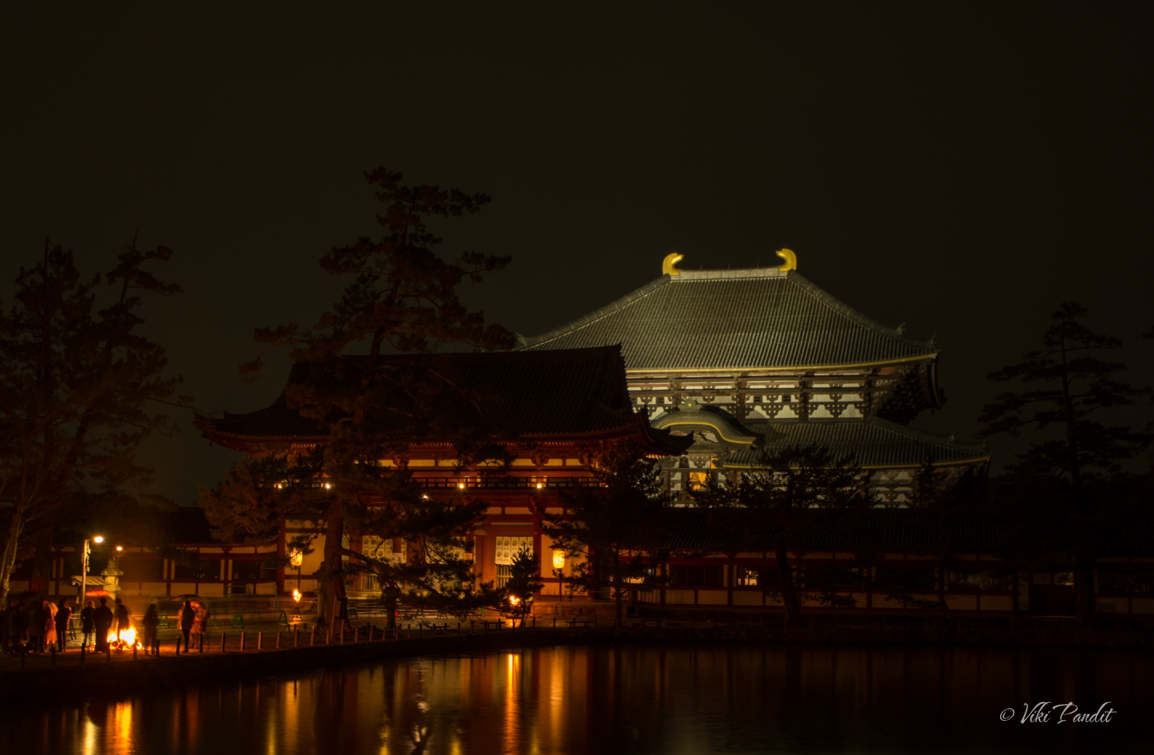 Todaiji on New Year Eve
