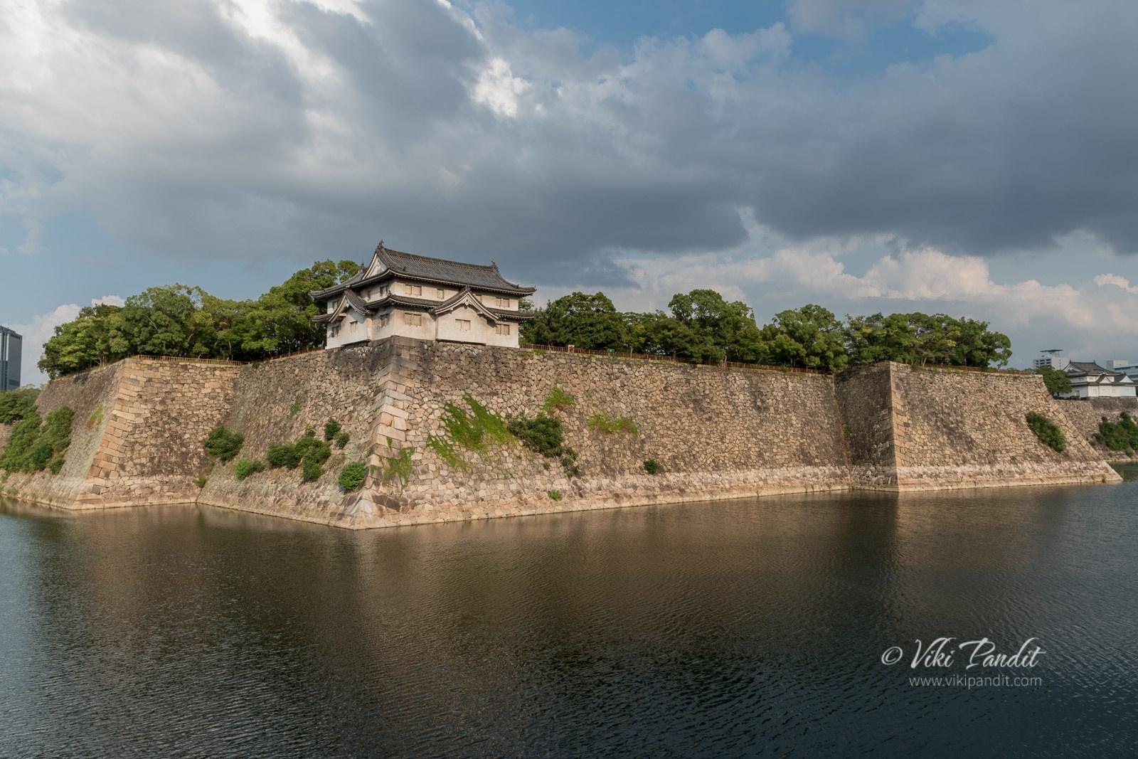 Moat around Osaka Castle