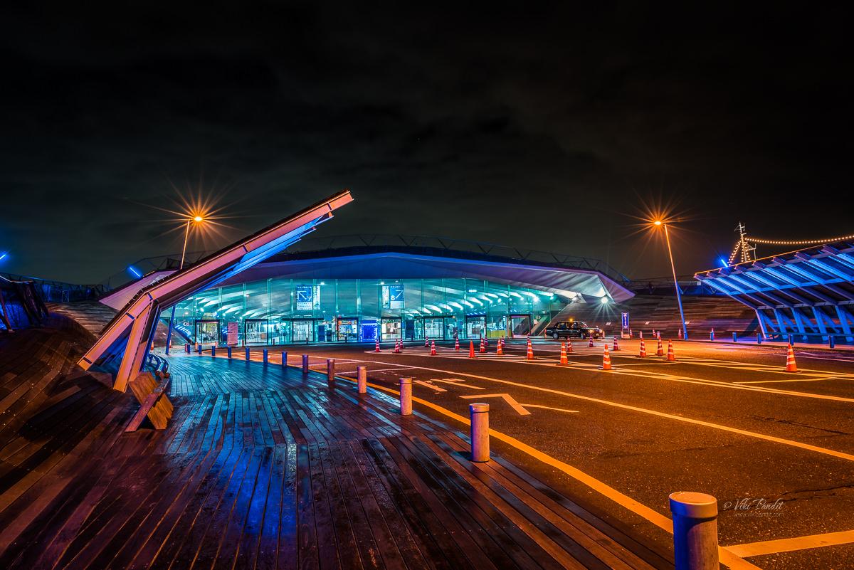 Osanbashi Kokusai Kyakusen Terminal