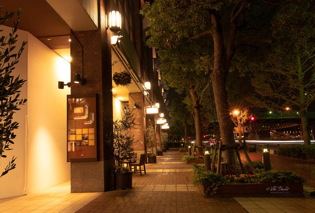 Walking around Minato Mirai
