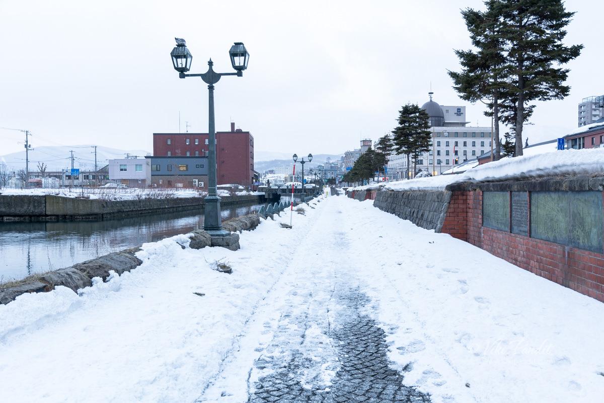 Path along Otaru Canal
