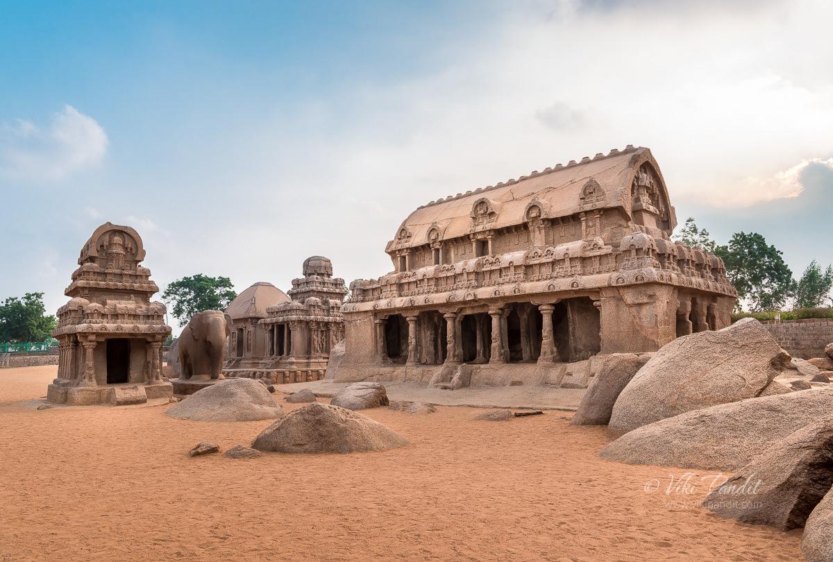 Dharmaraj Ratha at Mahabalipuram