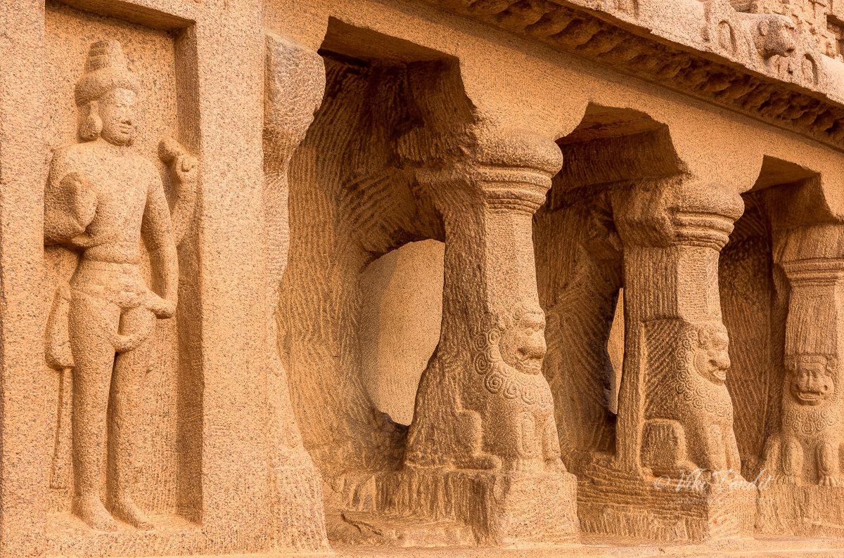 Pillars of Dharmaraja Rath