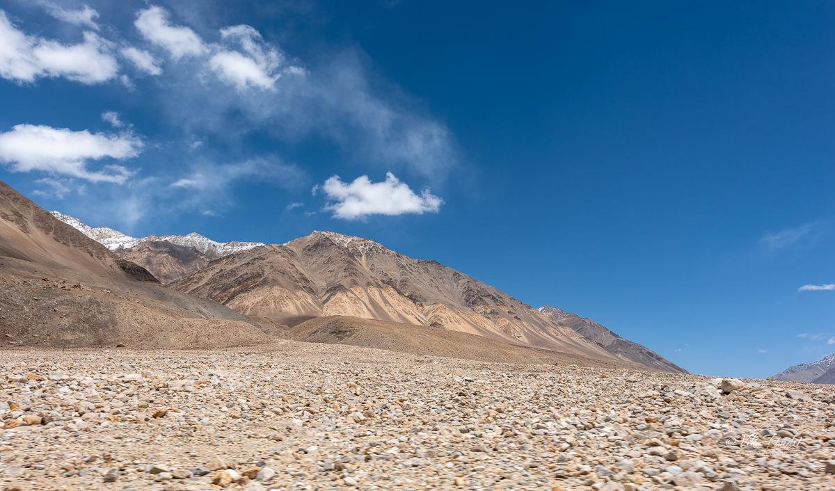 The mountains around Durbok in Ladakh