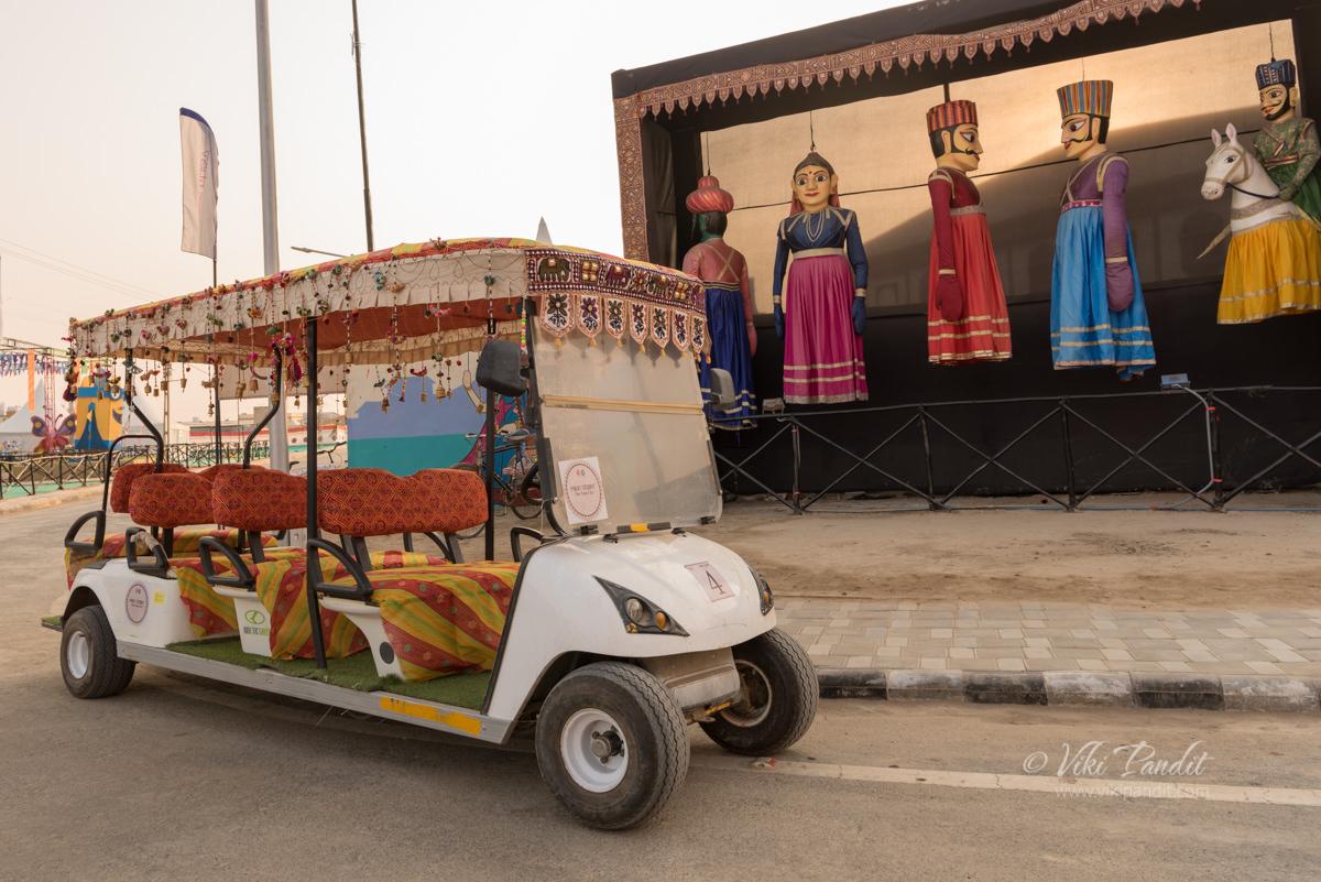 Buggy Rides at Rann Utsav