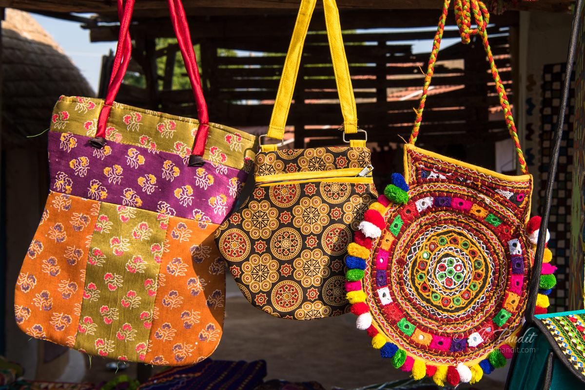 Gujarati handicrafts at Gandghi-Nugam