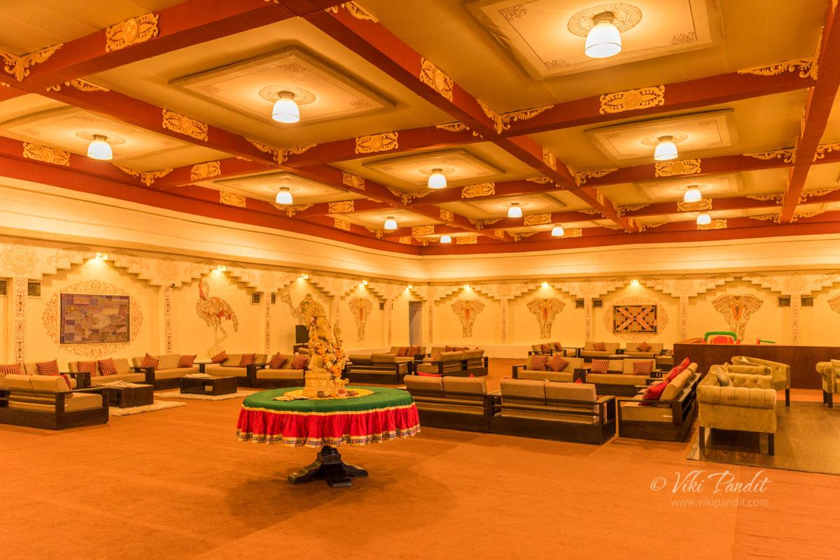 Reception Hall at Rann Utsav
