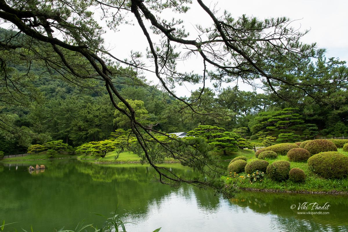 South Pond at Ritsurin Garden