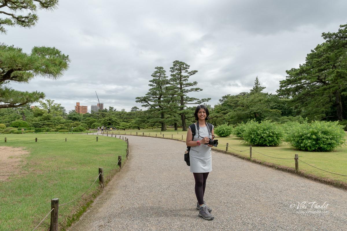 Ranita at Ritsurin Garden
