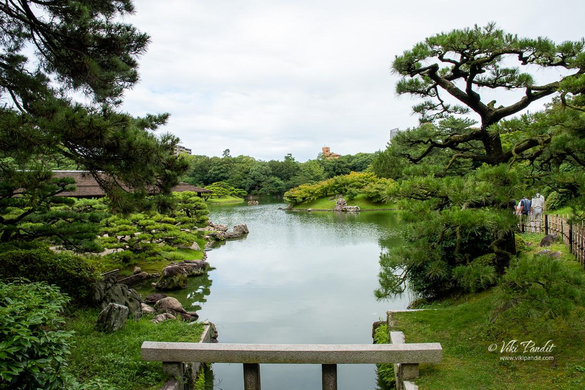 South Pond at Ritsuren Garden