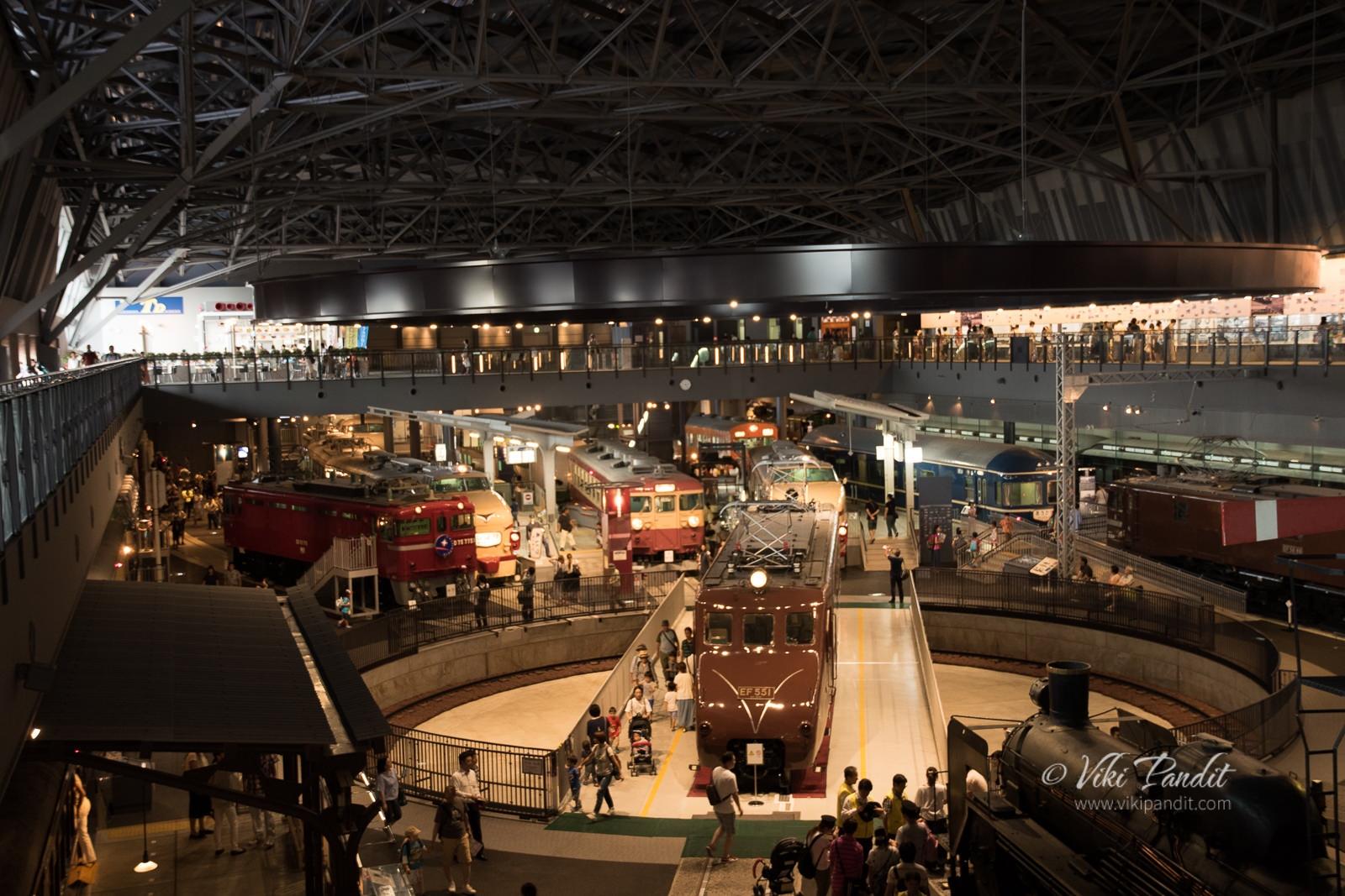 Saitama Rail Museum Top Floor