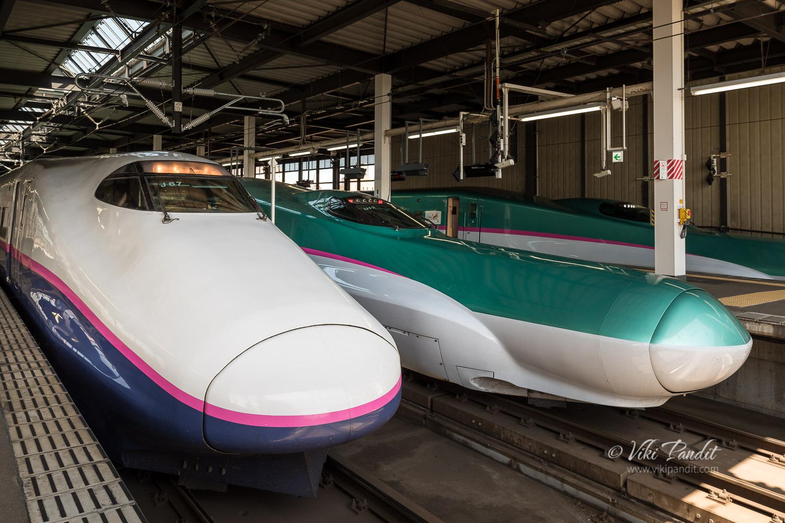 Shinkansen to Aomori