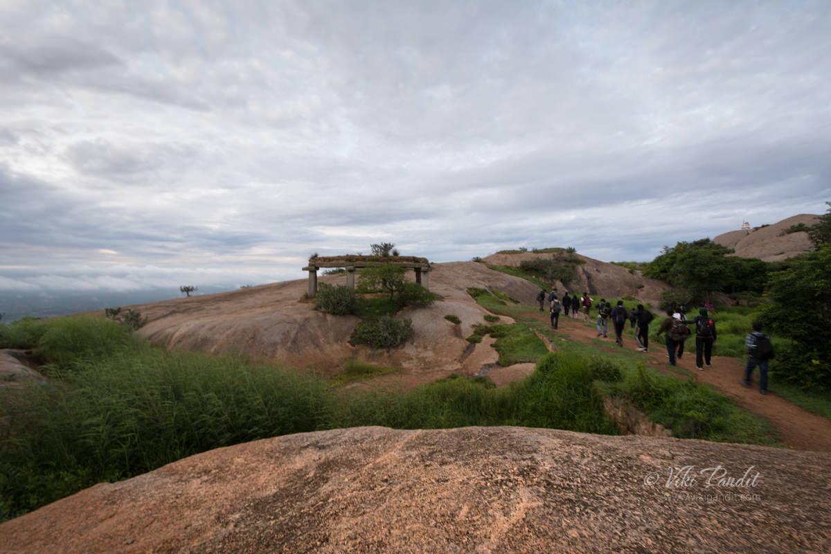 Trekking to Savandurga Peak