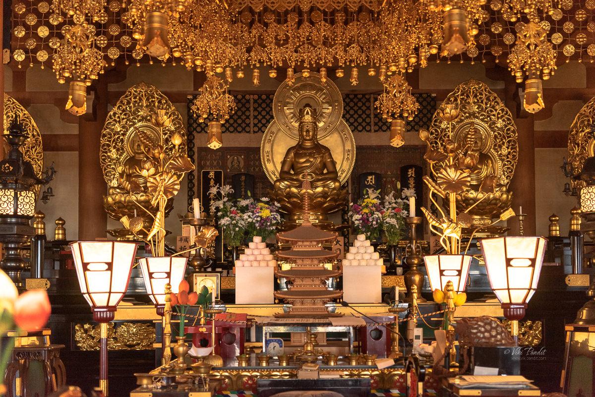 Seiryu-ji Temple Buddha